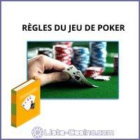 regles du jeu de poker